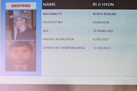 Five North Koreans involved in killing, say Malaysian police
