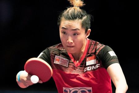 Feng back in Singapore squad