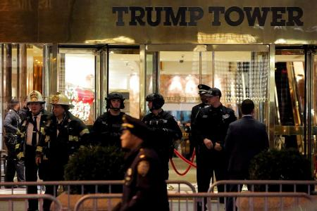 $435,000 a day to guard Trump Tower
