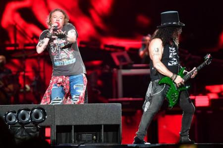 Fans come out, guns blazing against Guns N' Roses concert organisers