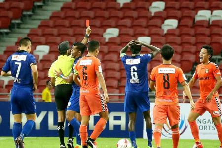 Sparks fly in S.League opener