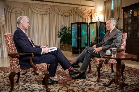 Now it's PM Lee in HARDtalk chair
