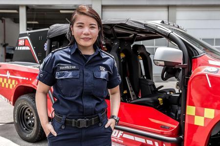 Shanmugam: Firefighter Tan is a true professional
