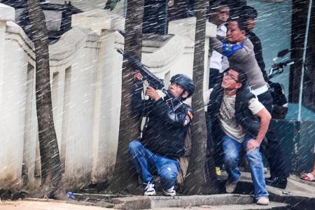 Terror suspect shot dead in Java
