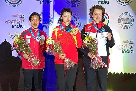 Ser finishes second in ISSF World Cup
