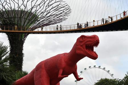 Dinos at Gardens by the Bay