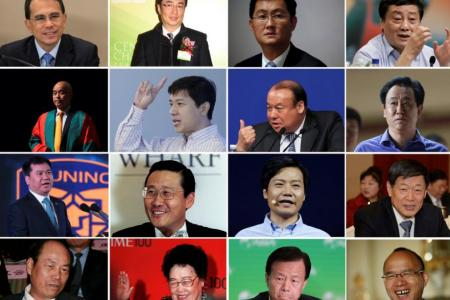 Wealth of richest 100 people in China's parliament up 64%