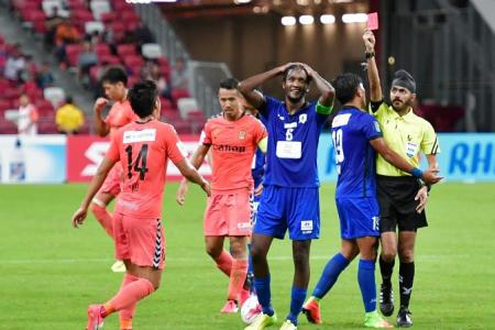 Madhu fined by Tampines for Twitter outburst