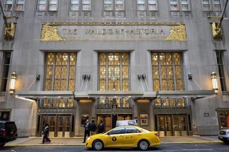 Waldorf closes for makeover