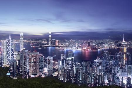 Hong Kong office rents triple those of Singapore