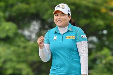 Park blitzes field with course record