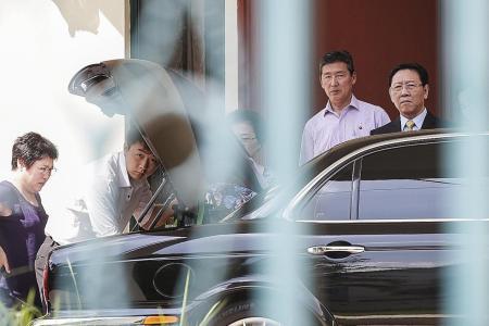 North Korean envoy leaves KL