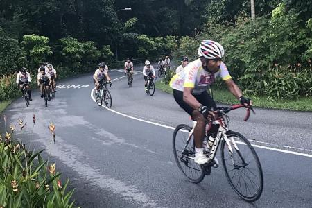 Local cycling group raises $320,000 for KDF