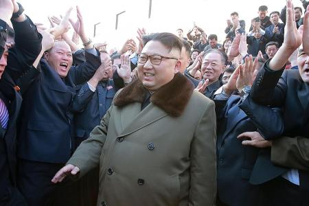 Kim knows exactly what he is doing