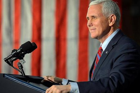 US Vice-President Mike Pence to tour Asia next month