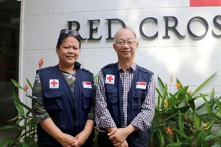 Volunteer helps widow identify son's body