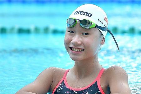 Ching Hwee sets new U-14 mark in 400m free