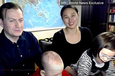 BBC's video of viral dad sparks racism debate