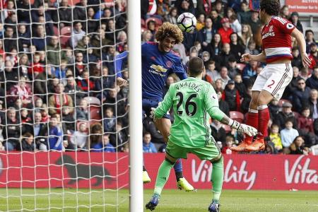 Finally, Red Devils move up a spot