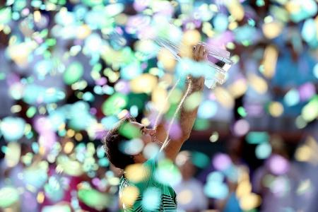 Federer's fairy tale continues