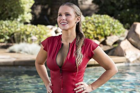 Kristen Bell couldn't be mean to husband on CHiPS set