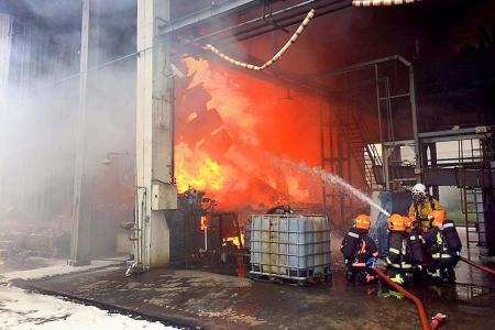 Two-hour fight to put out Jurong fire