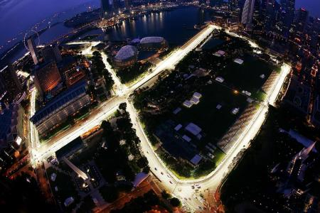 Singapore GP contractor accused of colluding to win bid