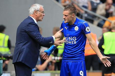 Vardy reveals death threats after Ranieri's sacking