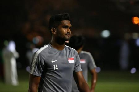 Hariss Harun is rested and ready