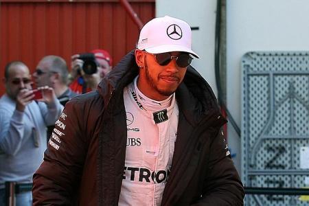 Hamilton gears up for 'physical' battle ahead