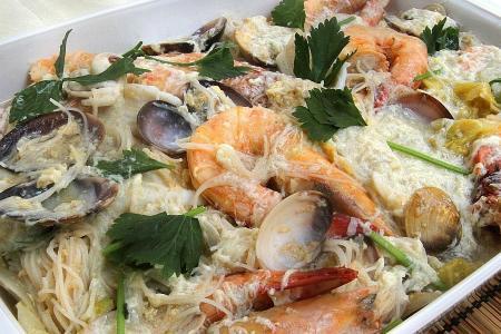 Super seafood surprise