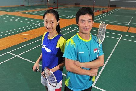 Tough opener for Singapore badminton pair