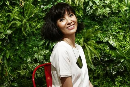 Dark days no more for singer Guo