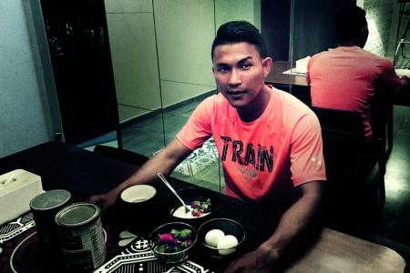 Eating in moderation the key for footballer Isa
