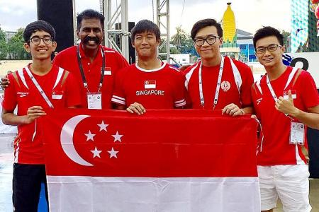 Wei Guan and Tia lead the way with two golds