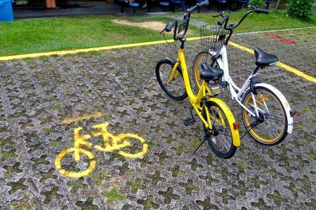 More bike parking zones islandwide