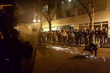 Protests, riots turn Paris ugly