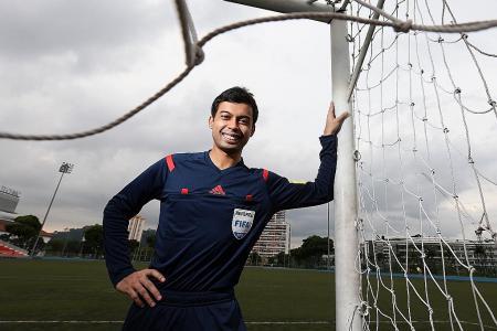 Local ref Taqi off to U-20 World Cup