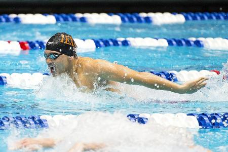 Schooling: My goal is still to break the world record