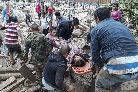 Over 200 killed in Colombia mudslides