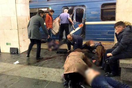 At least 10 dead in Russian subway blast