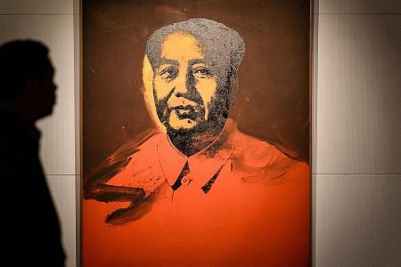 Warhol's Mao painting sells for $17.6m