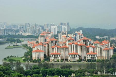 Prices of landed properties fell more steeply in Q1