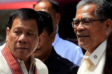 Duterte sacks his Interior Minister