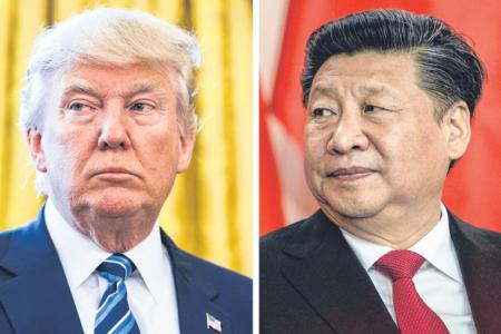 N Korea fires missile before Trump-Xi summit