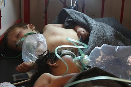 Syria gas attack a 'war crime'