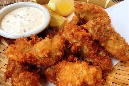 Hed Chef: Kaki furai (deep-fried oysters)