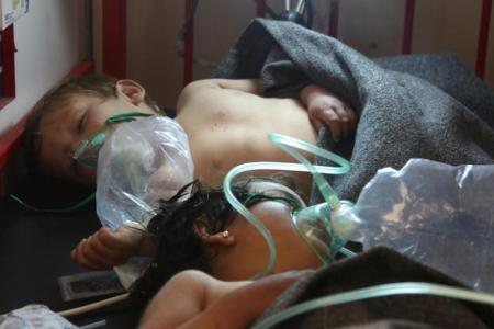 Trump: Syria gas attack went 'beyond a red line'