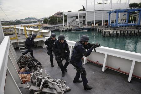 Countering terror in Singapore waters
