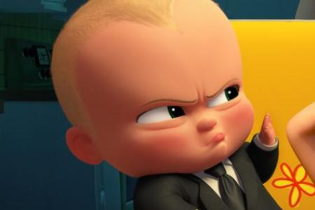 The Boss Baby tops US box office again